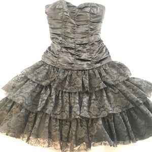 Betsey Johnson Evening Black Dress - Size 4